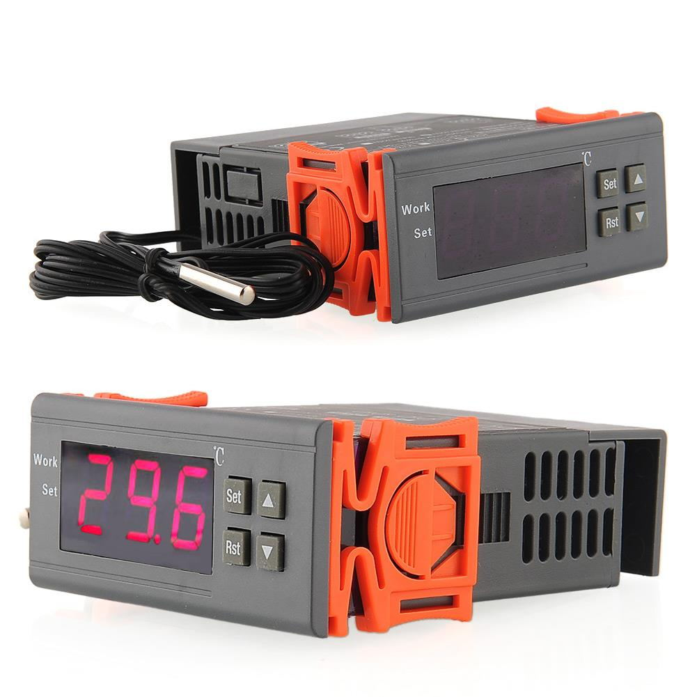 50 110 Celsius Degree 220V 5A Digital Temperature Controller Thermocouple Instrument Diagnostic Temperature Measuring Tool