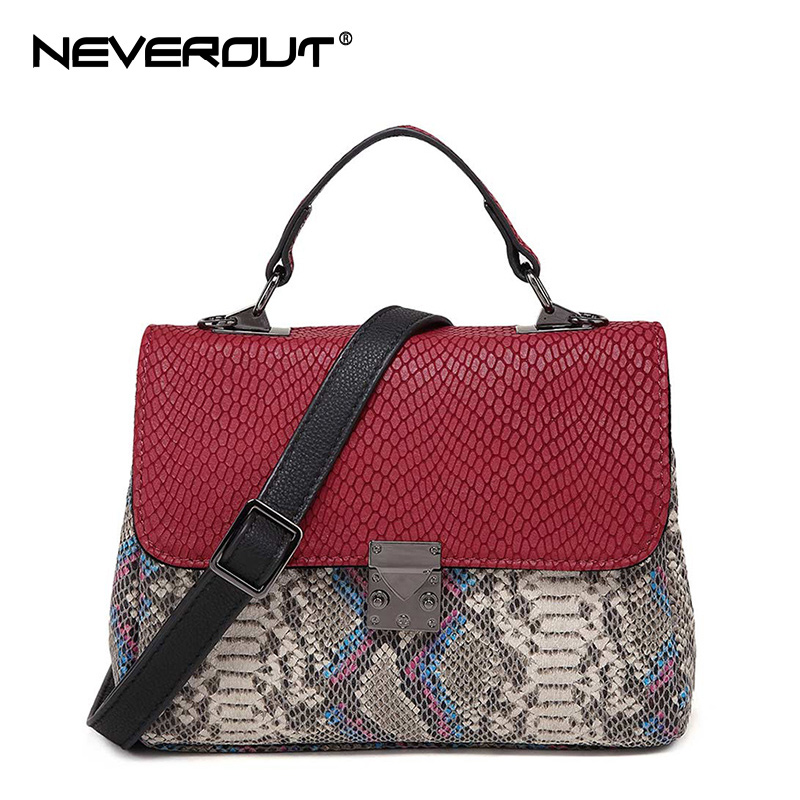NEVEROUT Women Bag Top-Handle Handbag Ladies Genuine Leather Handbags Crossbody Purse Shoulder Sac Soft Designer Boston Bag Tote neverout oil wax style split leather bag for women vintage boston bag shoulder sac 3 color handbags tote zipper tote new handbag
