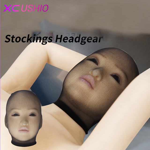 Top Quality Headgear Hood Mask Cheap Head Bondage Restraint Mask In Adult Games Fetish Sex Products Toys for Women