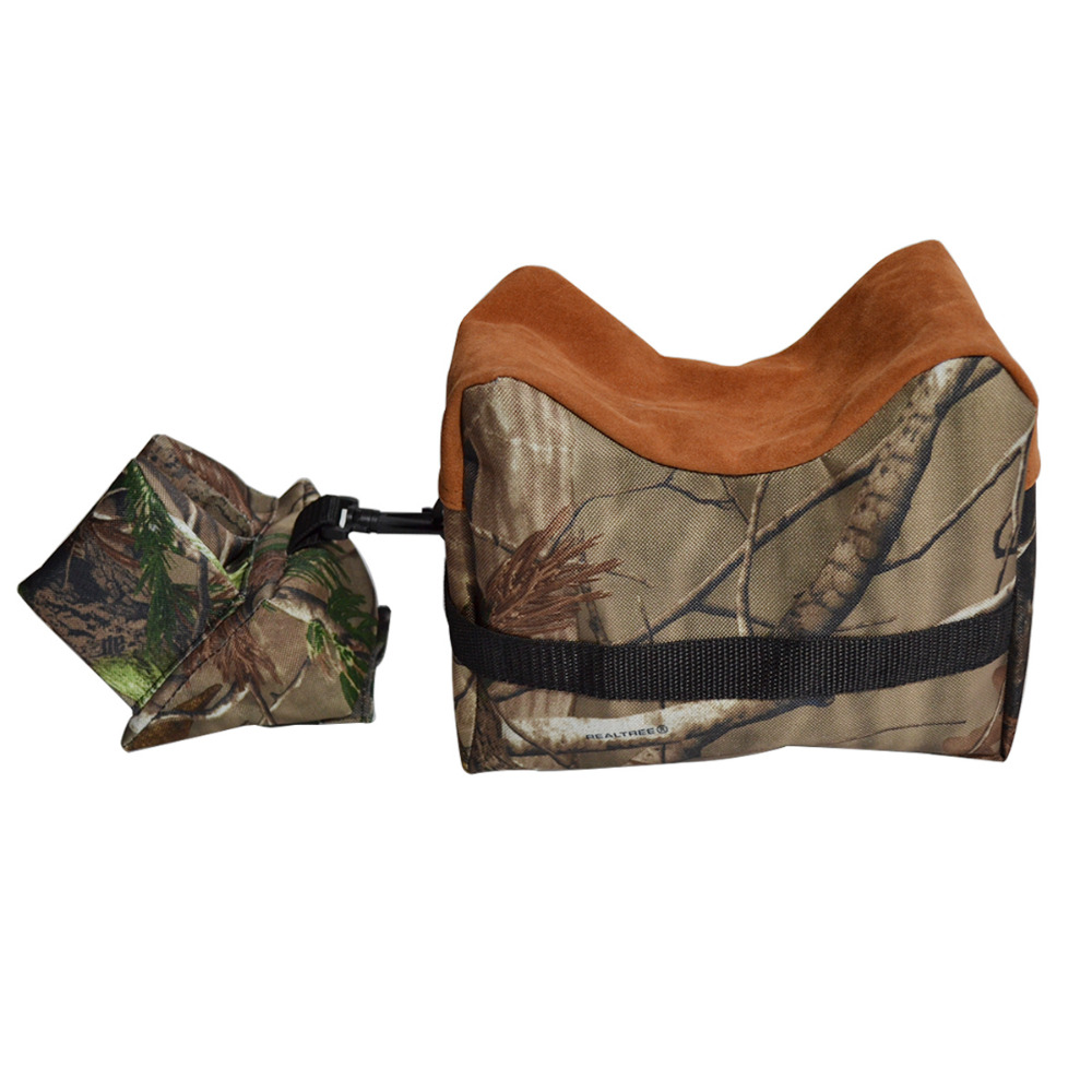 Portable Shooting Rear Gun Rest Bag Set Front & Rear Bench Rest Bags Rifle Unfilled Stand Shotting Training Accessories