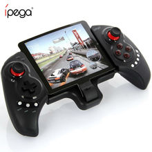PG 9023 Inalámbrico Bluetooth iPEGA PG-9023 Controlador de Juegos Joystick Gamepad Android Telescópica Para El Teléfono/pad/IOS Android Tablet PC