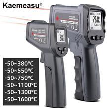 Цифровой инфракрасный термометр-50~ 380/550/750/1100/1300/1600 градусов одиночный/двойной лазерный Бесконтактный инфракрасный термометр пистолет-термометр