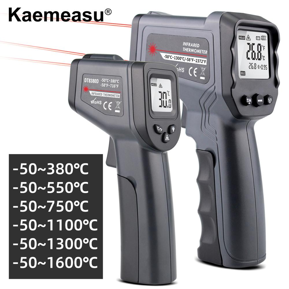 Digital Infrared Thermometer -50~380/550/750/1100/1300/1600 degree Single/Double laser Non-Contact Gun thermometer