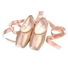 Adult bandage ballet shoes satin pointe shoes ballet shoes hard shoes