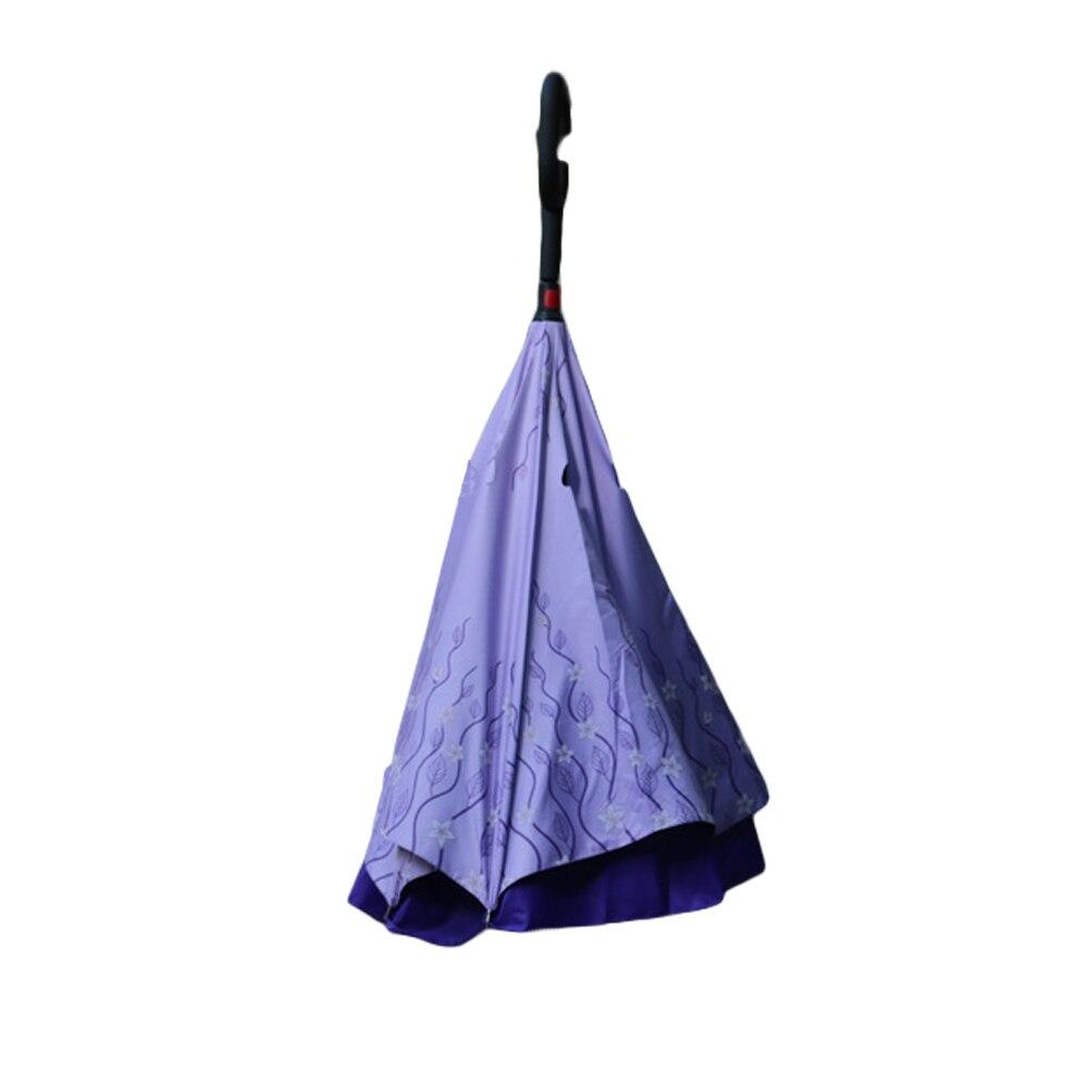 Kétrétegű összecsukható fordított esernyő, új, szélálló - Háztartási árucikkek - Fénykép 5