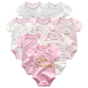 Image 5 - 8PCS/LOT Baby Rompers Cotton overalls Newborn clothes Roupas de bebe boy girl jumpsuit&clothing for children Overalls winter