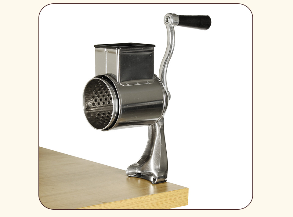 Multi functional kitchen rotary nut & cheese grater _05