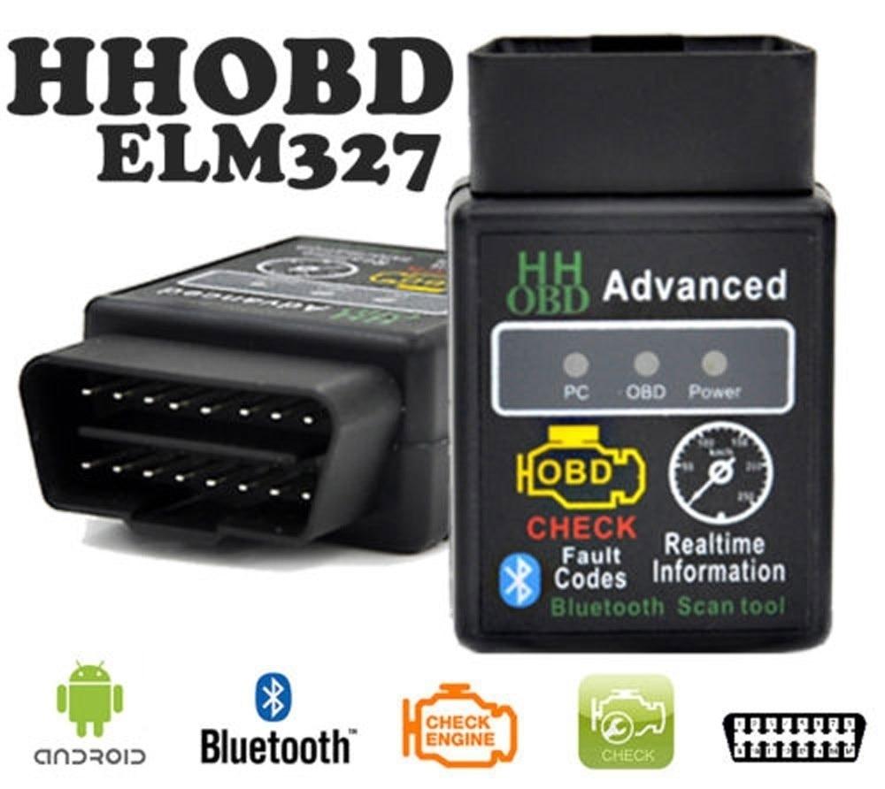 ELM327 V2.1 OBD2 Bluetooth Car Scanner Android Auto Torque Diagnostic Scan Tool