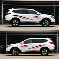TAIYAO car styling sport car sticker For Honda cr v car accessories and decals auto sticker
