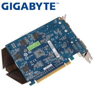 Видеокарта GIGABYTE GT730 2 Гб GV-N730-2GI D3 128 бит GDDR3 видеокарты для nVIDIA Geforce GT 730 D3 HDMI Dvi б/у VGA карты