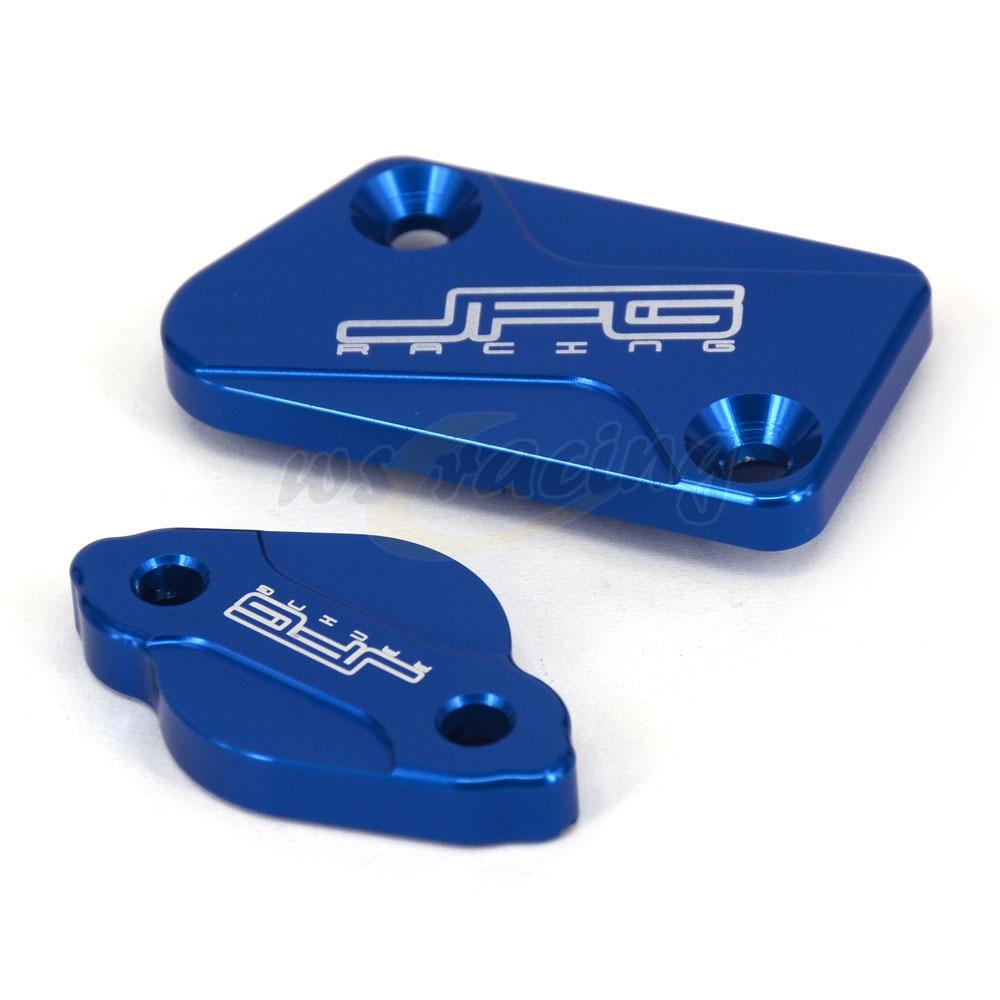Крышка Резервуара тормозной жидкости для мотоцикла CNC, передняя и задняя крышка для YAMAHA YZ 125 250 250F 426F 125X 250X 250FX 450FX WR 250F 450F
