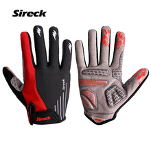 Sireck Padded Cycling Gloves Long Finger MTB Gloves Mountain Road Bike Gloves  Bicycle Mittens Luva Guantes Ciclismo Gant Velo