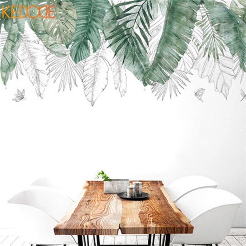 КЕДОД Настінні наклейки Тропічні - Домашній декор