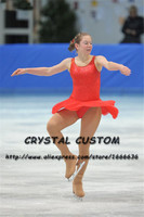 Crystal Custom Figure Skating Dresses Girls New Brand Ice Skating Dresses For Competition DR4524