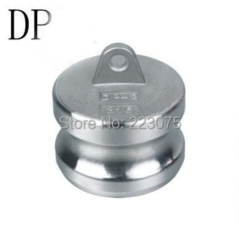 Free shipping SS304 Stainless Steel CAM LOCK CAMLOCK  TYPE DP Dust Plug  3""