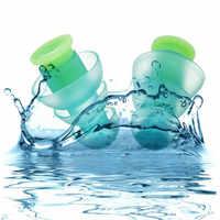 Silikon Ohrstöpsel Gegen Sound Wiederverwendbare Ohr Stecker Gehörschutz Schwimmen Ohr Stecker Ohrstöpsel für schwimmen Schlafen arbeits