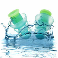 Silicone Earplugs Against Sound Reusable Ear Plugs Hearing Protection Swimming Ear Plugs Earplugs for swimming Sleeping working