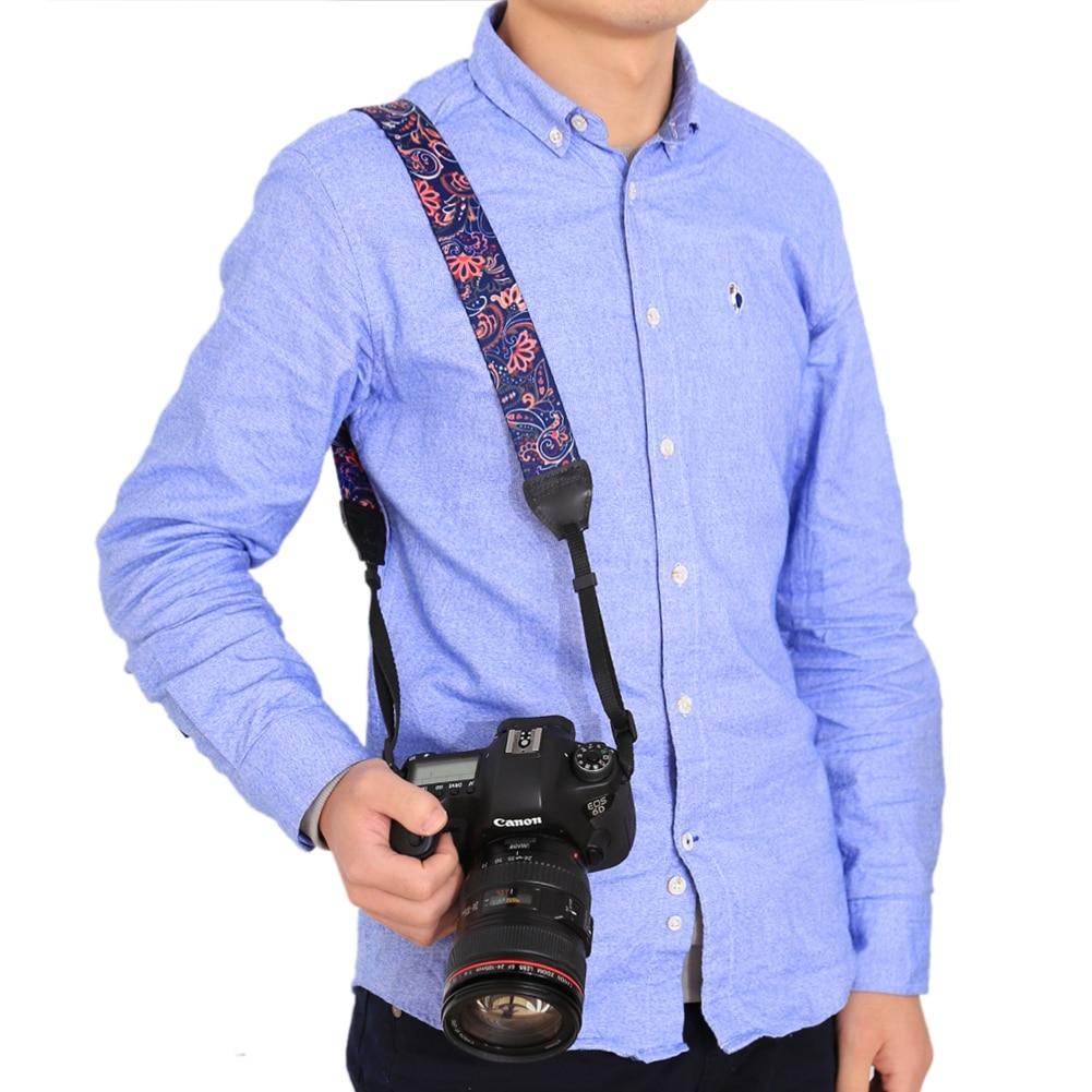 Camera Accessory Stripe Style Series Shoulder Neck Strap Camera Strap for SLR//DSLR Cameras Color : Coffee Dark Red Camera /& Camcorder Strap