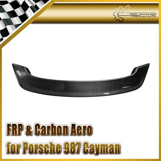 Carbon Fiber Key Fob Abdeckung Keyless Remote Fall Gehäuse Gehäuse 3 4 Taste Ersetzen für PORSCHE Cayenne 997 911 Boxster 987 Cayman