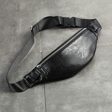Lüks PU Deri fanny paketi Erkekler Bel Çantası Moda Ayarlanabilir bel çantası Erkek Heuptas Yüksek Kaliteli Serseri Muz Çantası Muz Sac