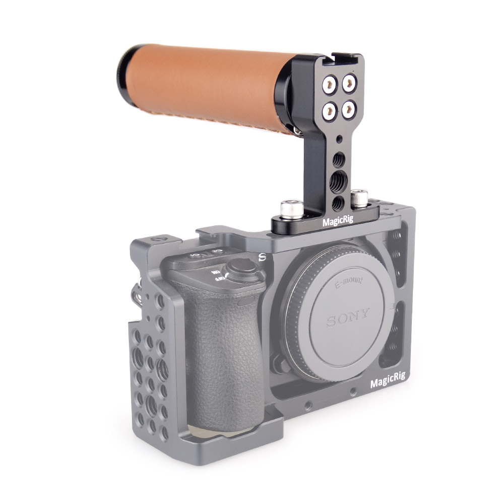 Pro Video Stabilizing Handle Grip for Canon EOS 7D Mark II Vertical Shoe Mount Stabilizer Handle