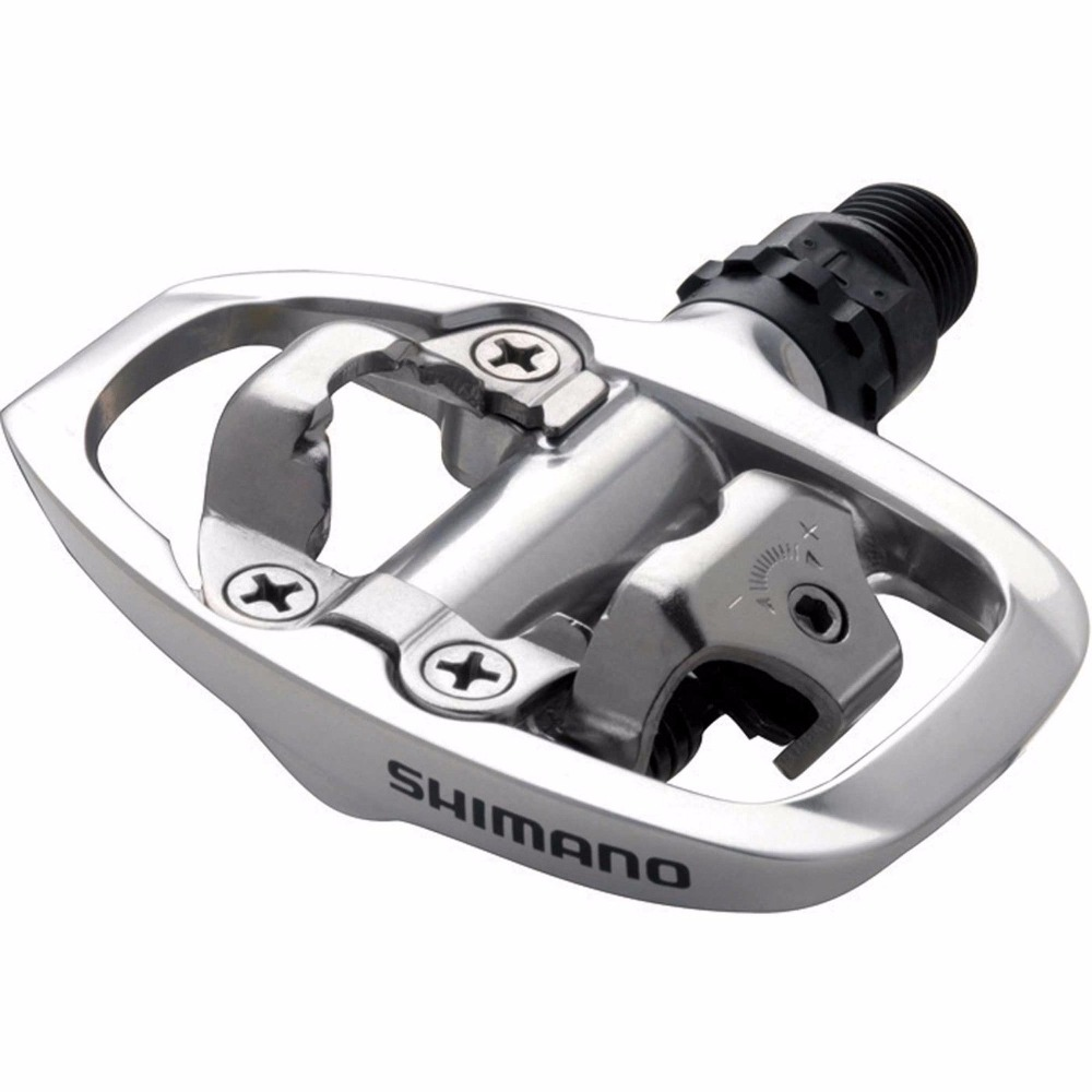 SHIMANO PD-A520 Pedals SPD Road Bike Touring Pedals With SPD Cleats игровой набор peppa pig пеппа в автомобиле