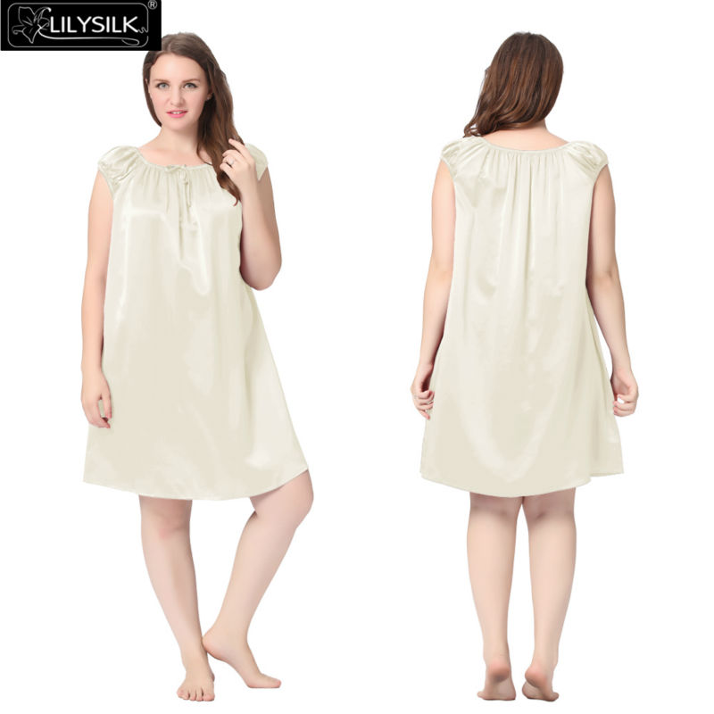 1000-beige-22-momme-mid-length-silk-nightgown-with-tied-bust-plus-size-01