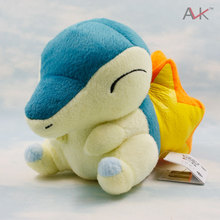 15cm Pokemon Cyndaquil Plush Toy Figures Toys Banpresto Pokemon Soft Stuffed Anime Cartoon Dolls Christmas Gifts