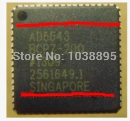 IC new original authentic free shipping AD6643BCPZ-200 LFCSP-64 10pcs tny275pn dip7 tny275p dip tny275 new and original ic free shipping