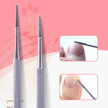 1pcs Foot Nail Care Hook Ingrown Double Ended Ingrown Toe Correction Lifter File Manicure Pedicure Toenails Clean Tools