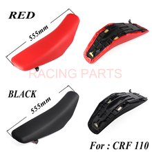 Black or red motorcycle Seat assembly For  CRF110 CRF110F 2013-2016 Dirt Bike MX Motocross Enduro Supermoto