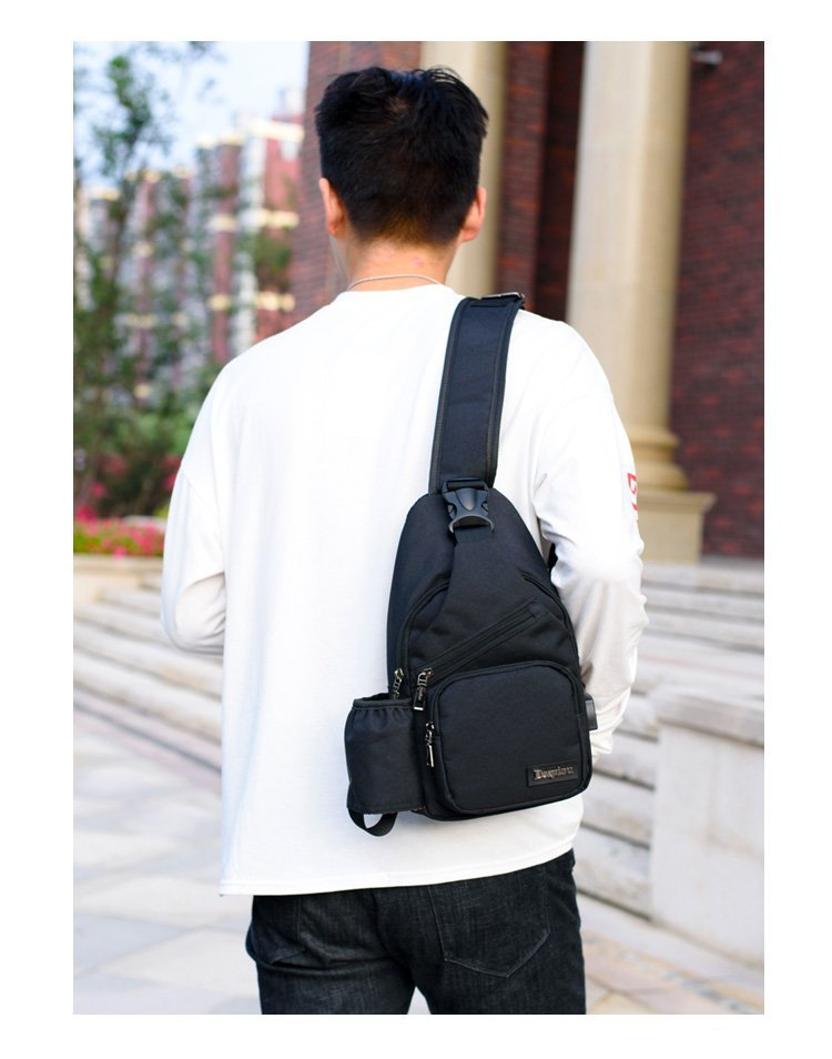 High Capacity Chest Bag For Men Backpack Women Sling Bag Casual ... 628947d0dd38f