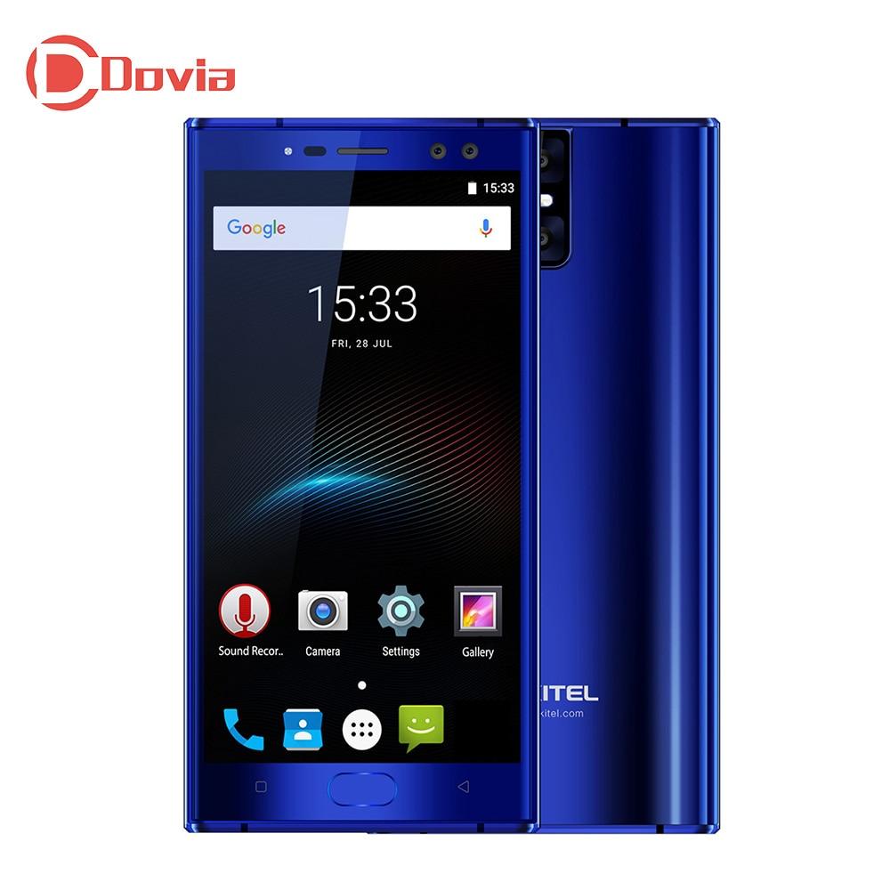 OUKITEL K3 4g Smartphone 5.5 Android 7.0 MTK6750T Octa Core 4 gb RAM 64 gb ROM 6000 mah batterie Quatre Cames D'empreintes Digitales Portable