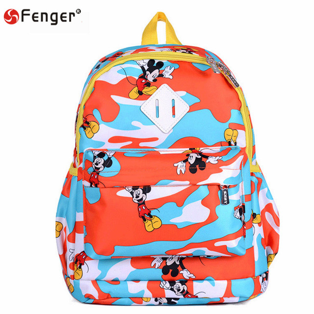 child backpack Cartoon mickey backpacks school backpacks,schoolbag,leather bags,lovely children backpacks kids mochila escolar