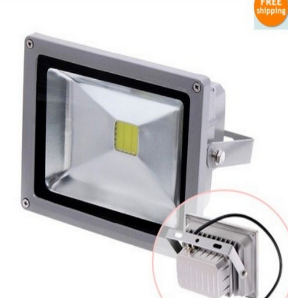 Led Floodlight 20W 30W Waterproof IP65 Landscape Spotlight Commercial Lamp 50W LED Reflector 110V Outdoor Flood Light 220V-in Floodlights from Lights & Lighting on Andy qiu's store