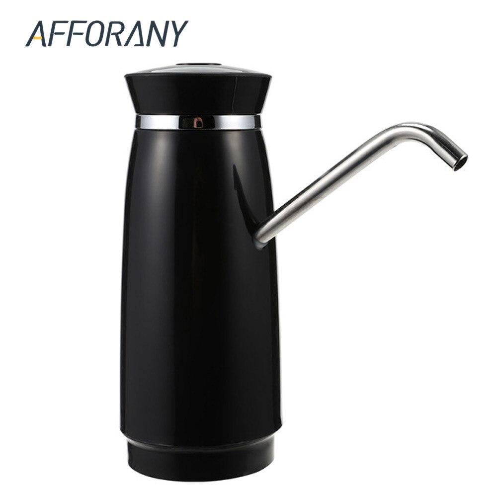 Fácil bomba botella de agua bebida dispensador de agua eléctrico con batería recargable al aire libre botellas de agua potable artículos de cocina