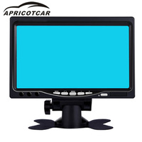 7 TFT HD LCD Stand Desktop Display Car Wireless Rearview Mirror Standby Camera Mirror Monitor Rewind Priority Buses Trucks Can
