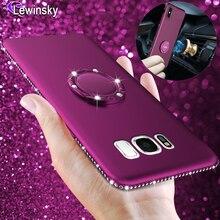 Bling Diamond Silicone Case For Samsung galaxy A8 A6 2018 S8 S9 Plus Note 9 8 S7 Edge A3 J3 J5 J7 2016 2017 Soft Rhinestone