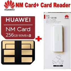 90 MB/s Geschwindigkeit 100% Original Für Huawei Mate 20/20 Pro/20X NM Karte 256 GB Nano Speicher Karte + huawei 2 in 1 kartenleser
