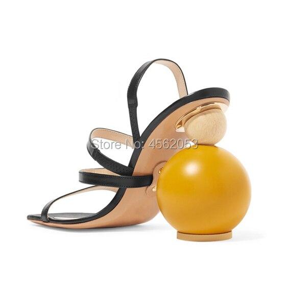 À Noir Mode Étrange As Kalmall Empilés D'été Chaussures Boucle Pic Nouvelle Pic as Nude Liège Étroite Sandales Cuir Chic Gladiateur En Sangle Talon Femmes RxRzwZ4n