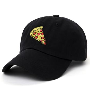 2017 new pizza embroidery Baseball Cap Trucker Hat For Women Men Unisex Adjustable Size dad cap hats 1