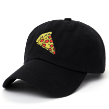 Embroidered pizza slice Baseball Cap