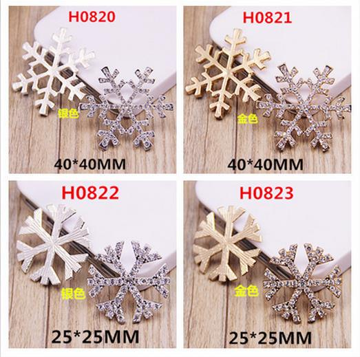 Cooperative 50pcs Christmas Holiday Wooden Collection Snowflakes Buttons Snowflakes Embellishments 18mm Creative Decoration Pretty And Colorful Arts,crafts & Sewing