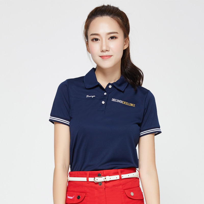 golf shirts font b women b font brand short sleeve girls shirts summer colorful top golft