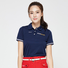 golf shirts women brand short-sleeve girls shirts summer colorful top golft polo shirt 4 colors size S~XL