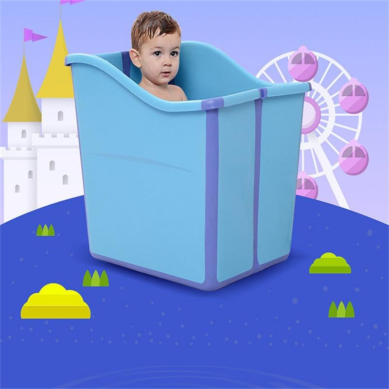 Large Size Foldable Babies Bath Tub Almofada Banho With A