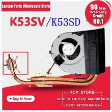 For Asus K53 X53 K53S A53S X53S K53SV K53SM K53SJ K53SC K53SD Laptop CPU Cooling Fan Radiator Heatsink Cooler KSB06105HB(China)