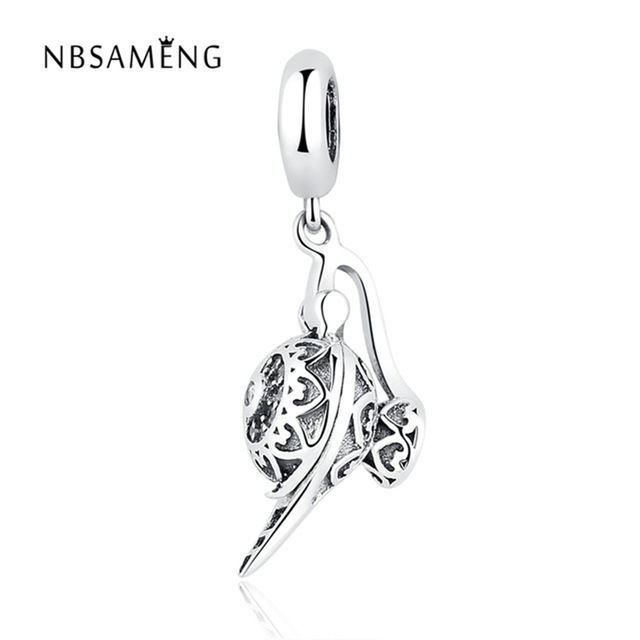 Jewelry & Accessories Sterling Silver Charms Pendant Beads Magic Snake Diy Pendants For Original Pandora 925 Sterling Silver Bracelets Bangles Xcy218