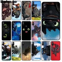 How To Train Your Dragon desdentado Babaite HTTYD DIY Caixa Do Telefone para xiaomi mi 6 8 se note2 3 mi x2 5 plus nota redmi 5 4 5 capa(China)
