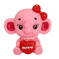 Brand New Elephant Money Box Creative Cartoon Elephant Piggy Bank Children Toy Kid Gift Home Decoration Accessories
